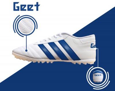 Giày bóng đá 3 Sọc Trắng-Bích